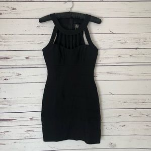 Trixxi Black bodycon dress